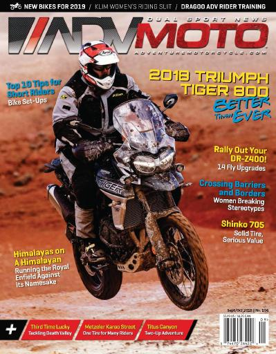 Adventure Motorcycle ADVMoto   August September (2018)
