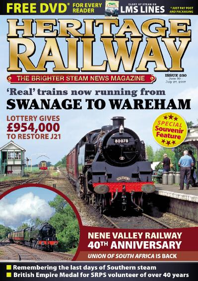Heritage Railway Issue 230 June 30 July 27 (2017)