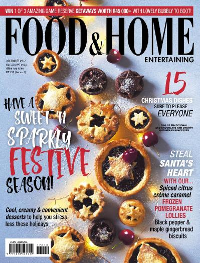 Food & & Home Entertaining December (2017)