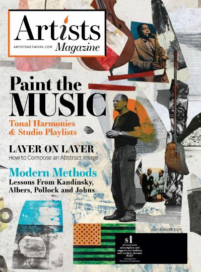 The Artist ' s Magazine - July (2018)