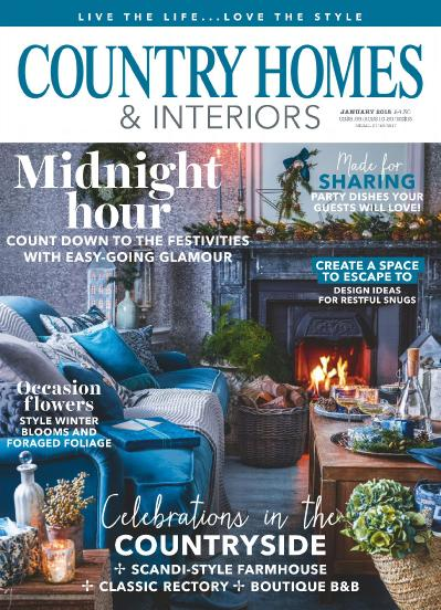 Country Homes & Interiors  January (2018)