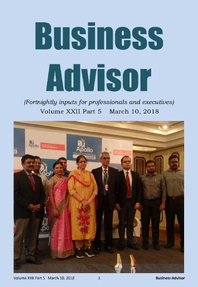 Business Advisor   March 09 (2018)