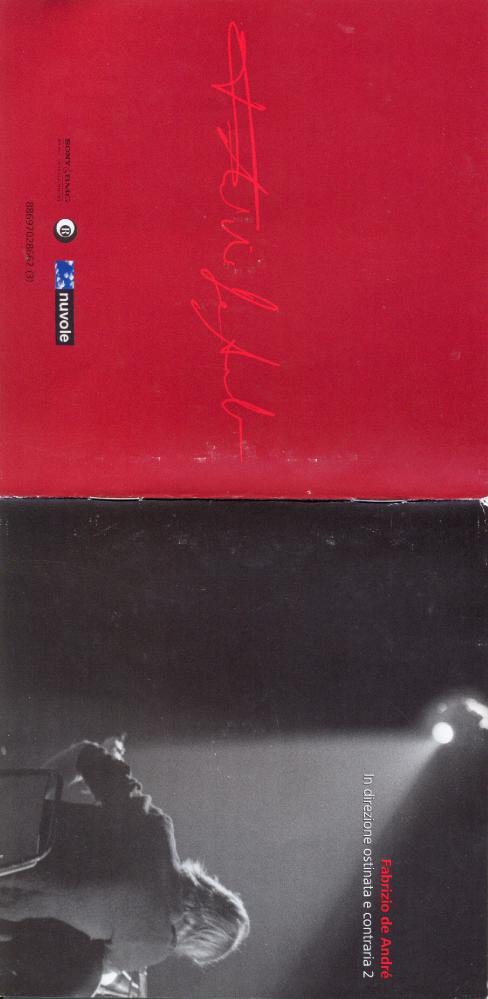 Fabrizio De Andre   In Direzione Ostinata E Contraria 2 ((2010)) [flac]