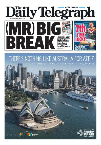 The Daily Telegraph Sydney  May 15 (2017)