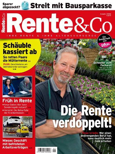 Rente & & Co Nr 1 (2016)