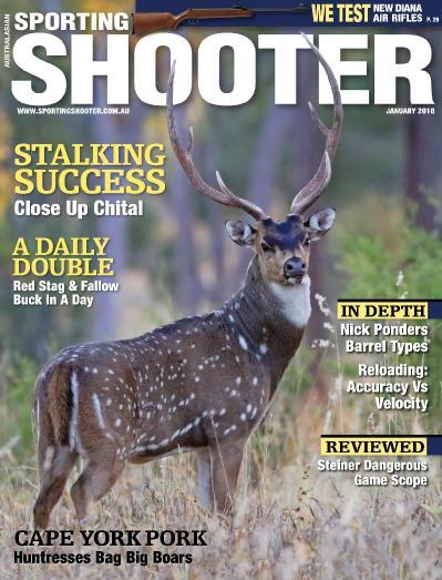 Sporting Shooter Australia  January (2018)