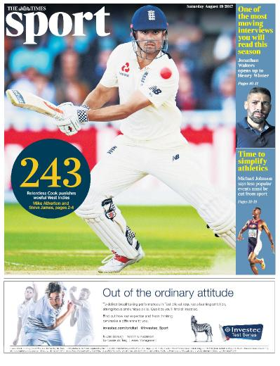 The Times Sports  19 August (2017)