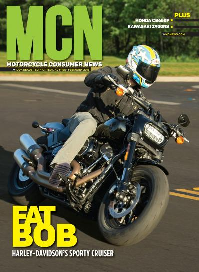 Motorcycle Consumer News  February (2018)