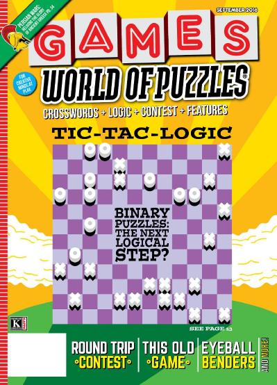 Games World of Puzzles September (2016)