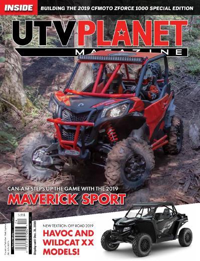 UTV Planet Magazine October (2018)