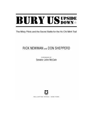 Bury Us Upside Down  The Misty Pilot Rick Newman