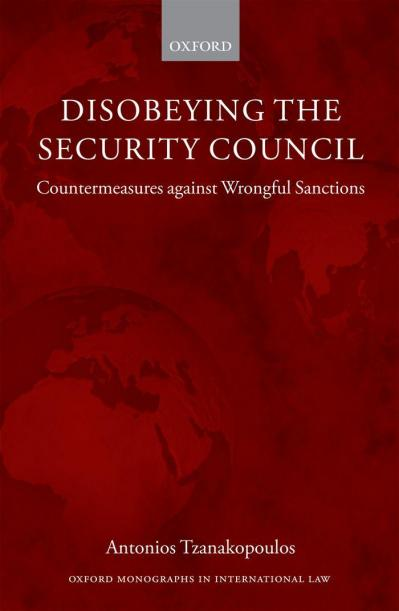 Disobeying the Security Council Countermeasures against Wrongful Sanctions