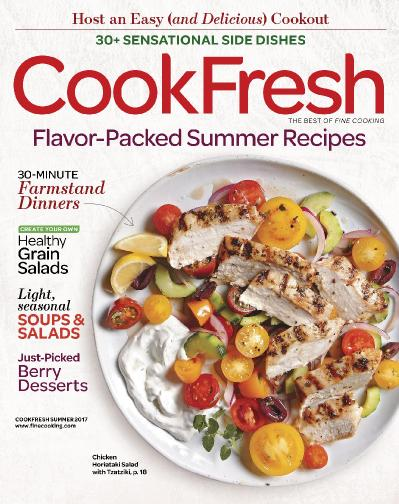 The Best of Fine Cooking CookFresh Summer (2017)