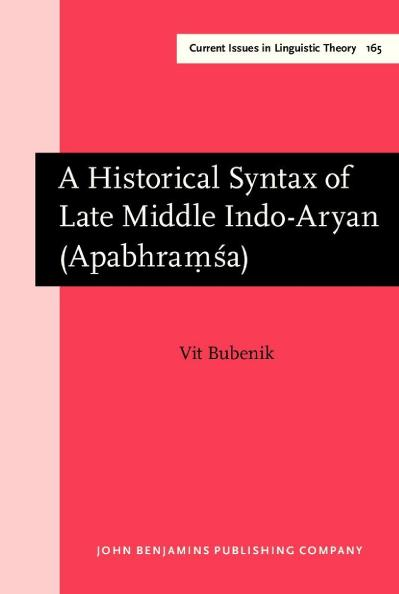 A Historical Syntax of Late Middle Indo Aryan Apabhram 803  347 a
