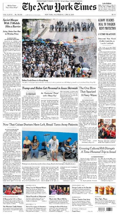 The New York Times   12 06 (2019)