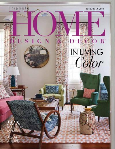 Triangle Home Design & Decor June July (2019)