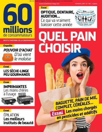 60 Millions de Consommateurs   02 (2019)