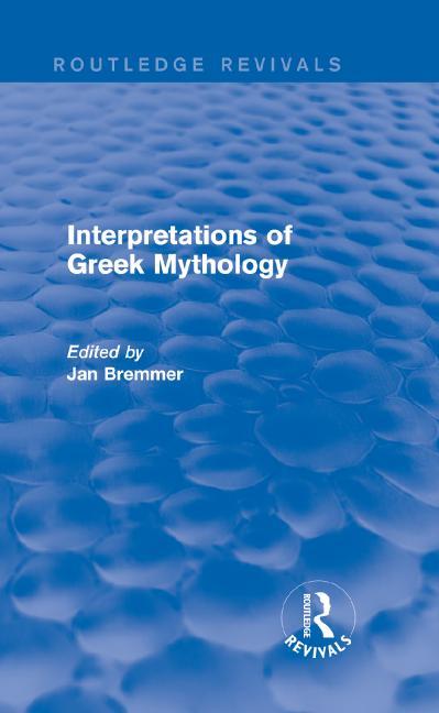 Interpretations of Greek Mythology