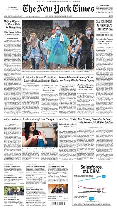The New York Times 13 06 (2019)