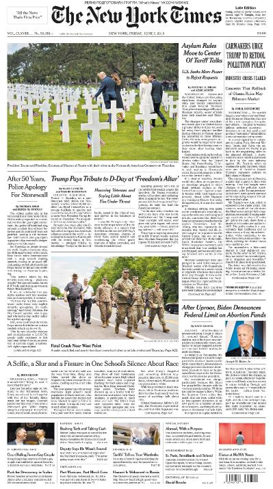 The New York Times 07 06 (2019)