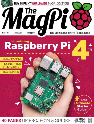 The MagPi   July (2019)