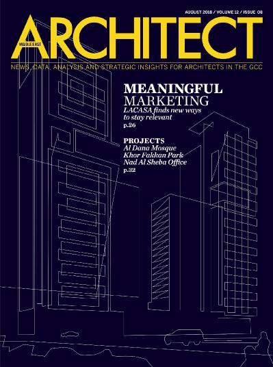 Architect Middle East  August (2018)