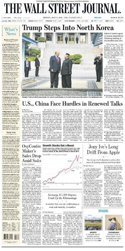 The Wall Street Journal   01 07 (2019)