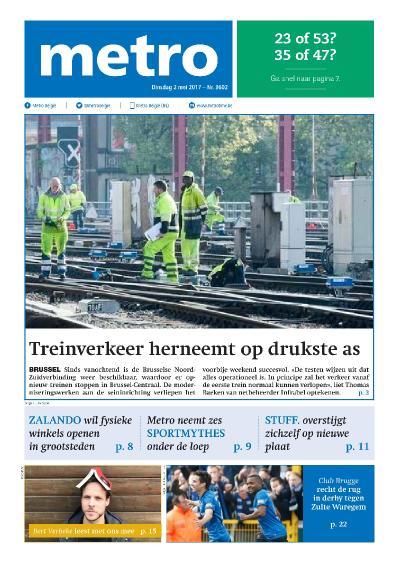 Metro Belgi 235  2 Mei (2017)