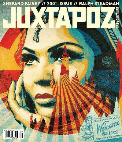 Juxtapoz Art & & Culture  Issue 200  September (2017)