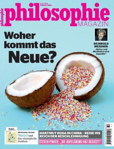 Philosophie Magazin Germany  Februar M 228 rz (2018)