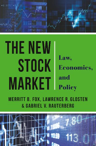 The New Stock Market Law, Economics, and Policy