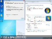 Windows 7 Professional SP1 x64 Game OS v.2.5 by CUTA (RUS/2019)