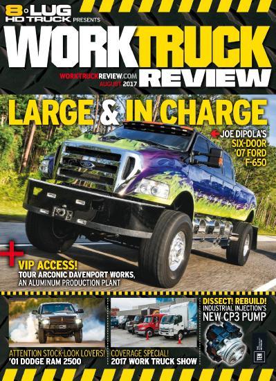 8 Lug HD Truck  August (2017)