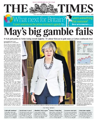 The Times  9 June (2017)